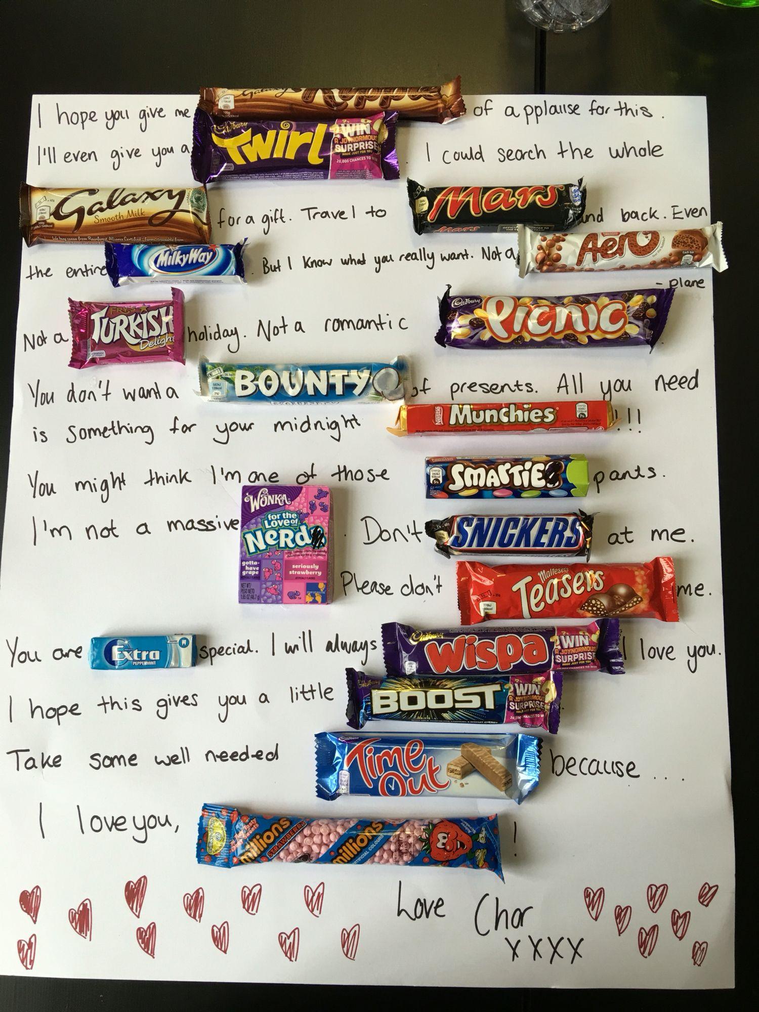 Chocolate Board Present For Boyfriend Presents For Boyfriend Chocolate Bar Chocolate