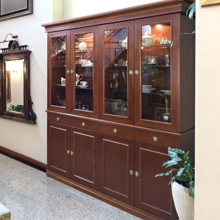 Wooden Cabinet Designs For Dining Room Crockery Cabinet