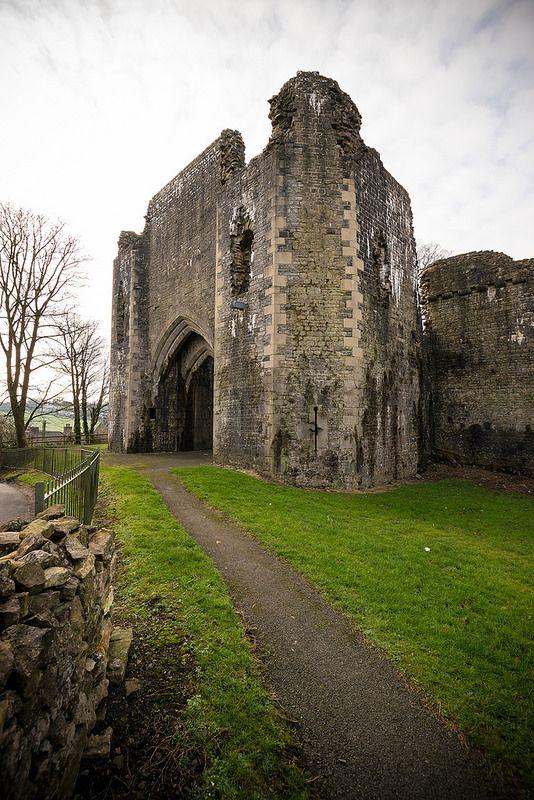 St Quentin's Castle, village of Llanblethian, Cowbridge, Wales