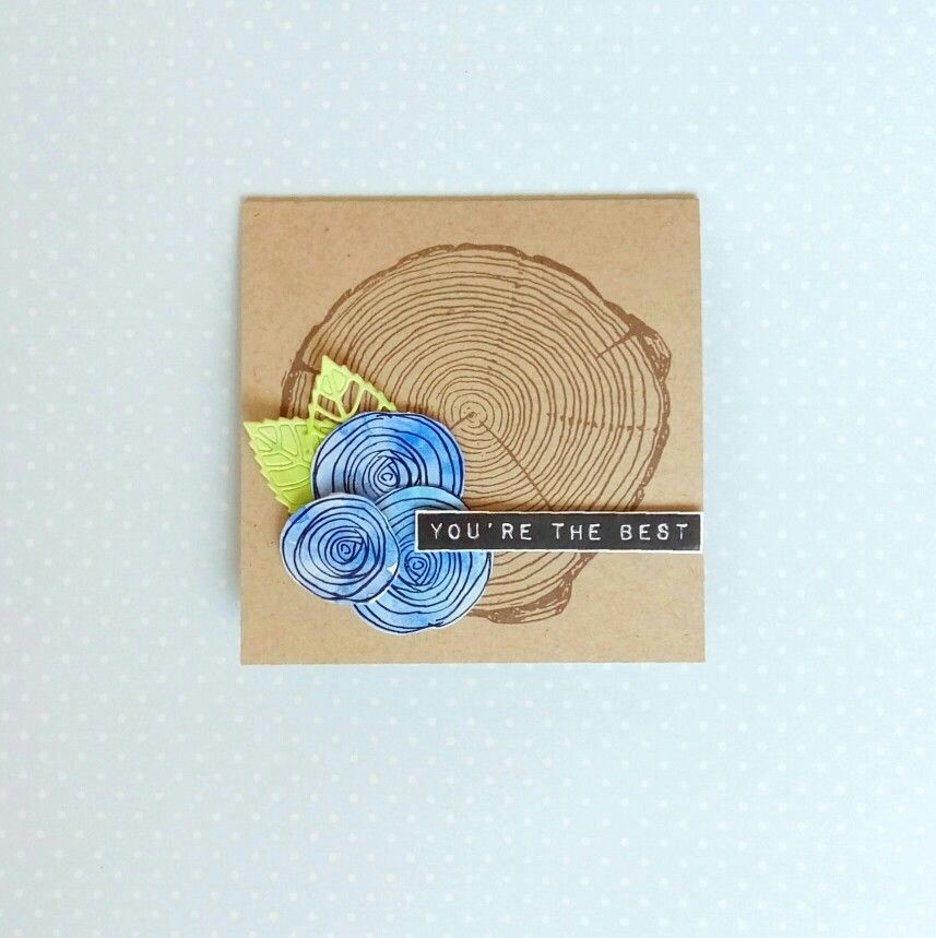 SSS Sketch Ranunculus and Concord & 9th Tree ring stamp #SSSFave