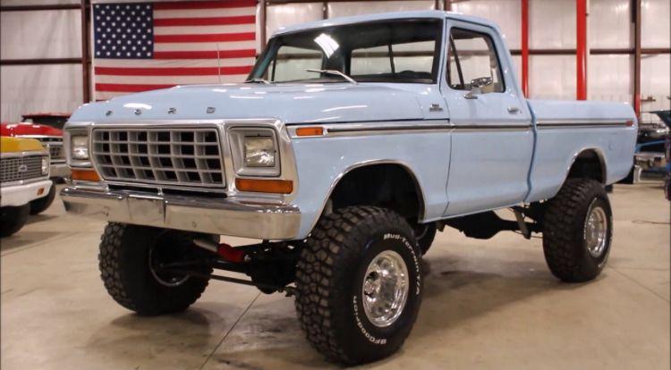 1978 Ford F 150 Baby Blue Best Car Insurance F150 Ford Trucks