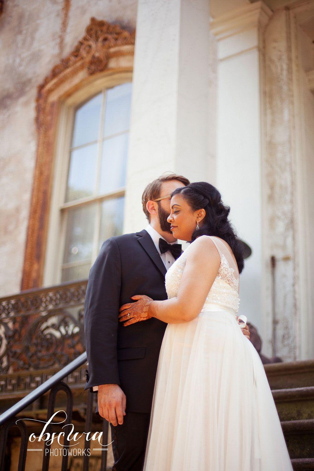 Savannah wedding photography christianhindu ceremony historic