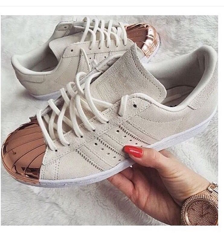 adidas superstar gold front