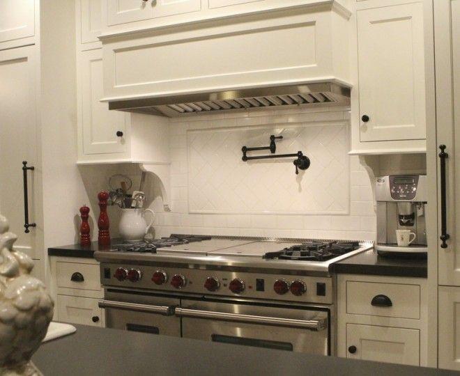 Glamorous Pot Filler Faucet mode Portland Contemporary Kitchen Image ...