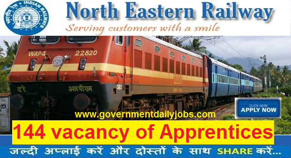 NER Recruitment 2016 Apply for 144 Trade Apprentices Vacancy