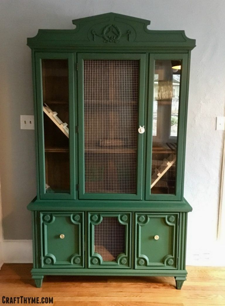 What?! A twenty-five dollar Craigslist china cabinet becomes what ...