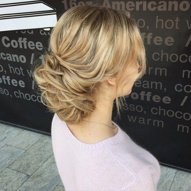 Messy Updo For Medium Length Hair Prom Pinterest Messy Updo
