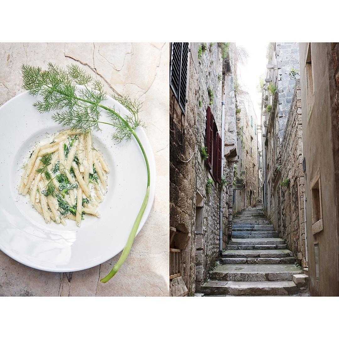 #croatia #korcula #travel #pasta #leisure #foodandtravel #onassignment #summer