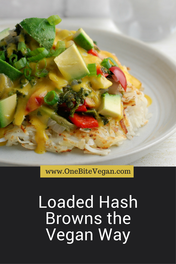 Loaded Hash Browns The Vegan Way