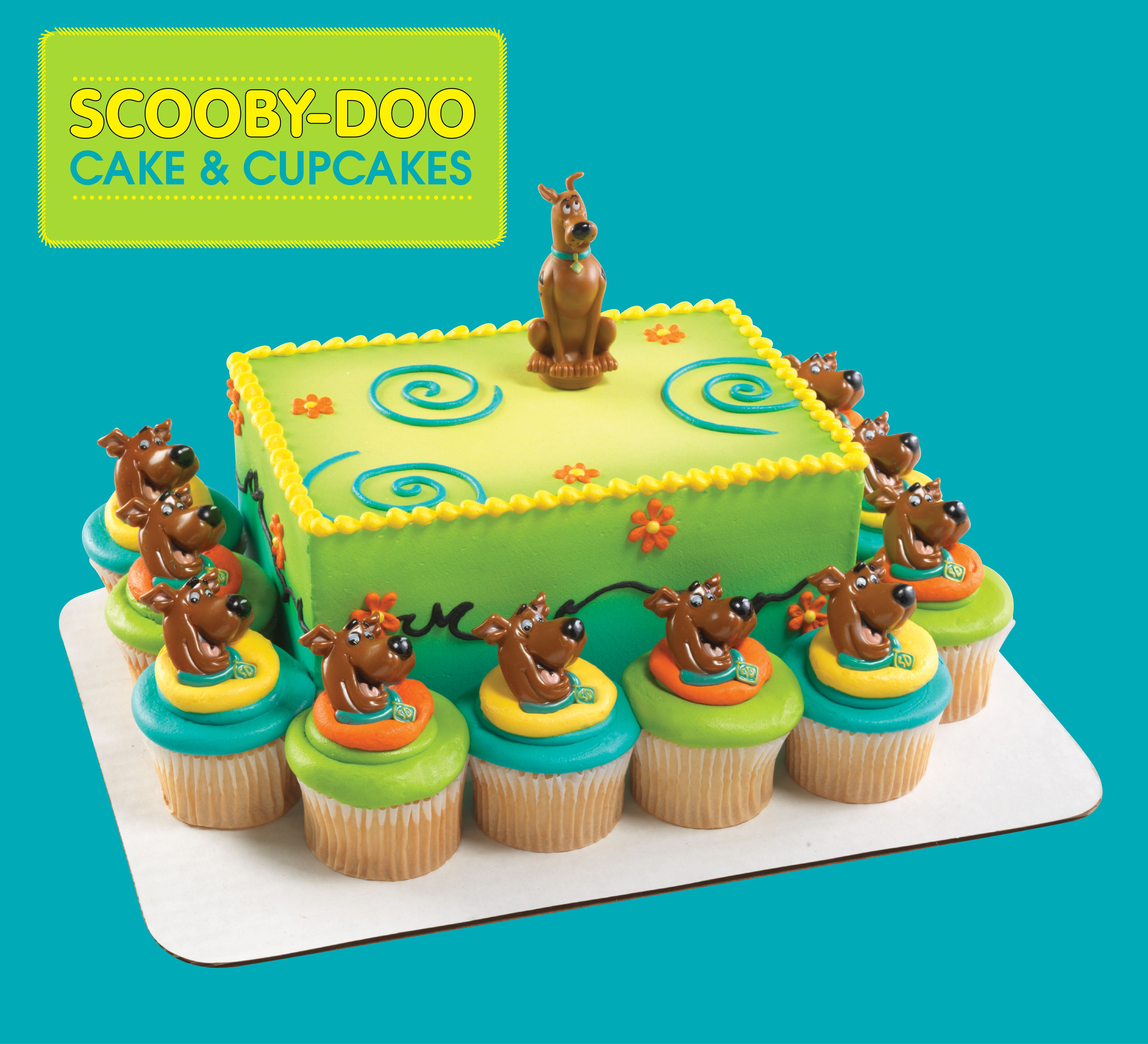 Scooby Doo Spoon Cake Topper And 24 Scooby Doo Rings Spoon Topper
