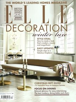 Elle Decoration Interior Design Magazine Home Decorating Shelter Architecture