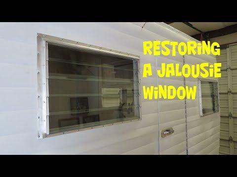 Restoring A Jalousie Window Youtube Jalousie Window