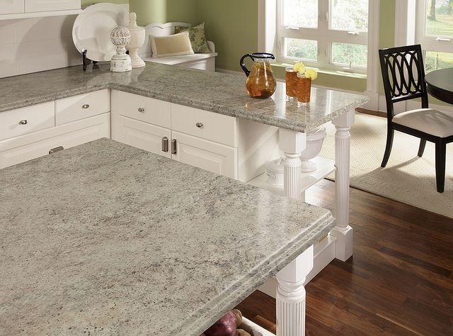 Classic White Kitchen With Wilsonart Madura Pearl 4922