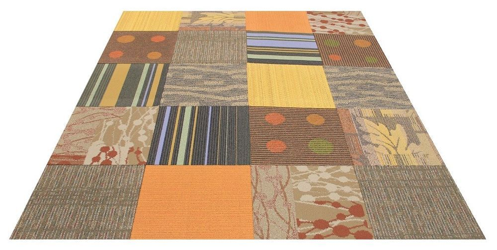 Interface Flor Carpet Tiles Autumn Harvest Area Rug Carpet