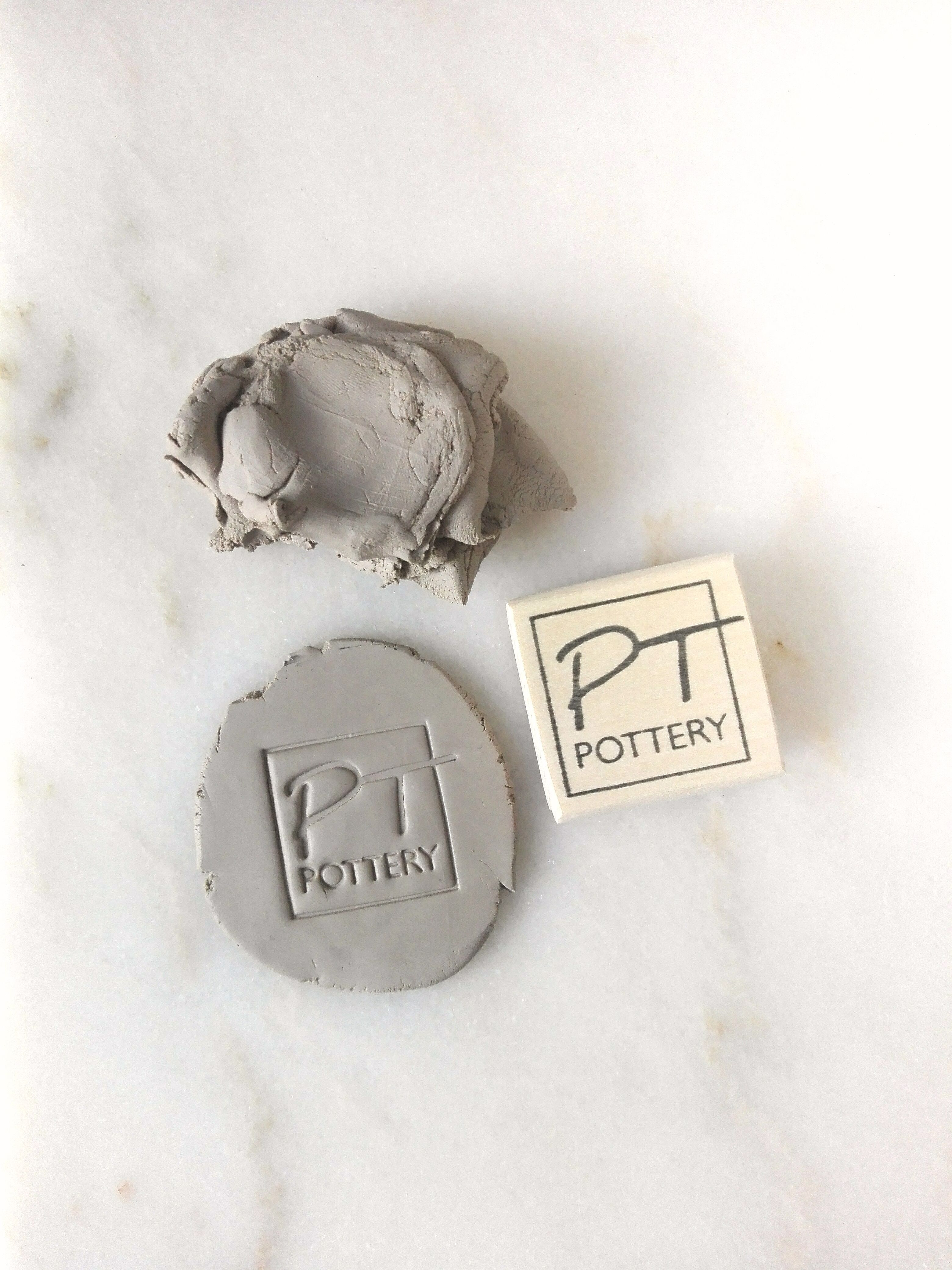 Pottery Custom Stamp In 2020 Pottery Custom Stamps Stamp