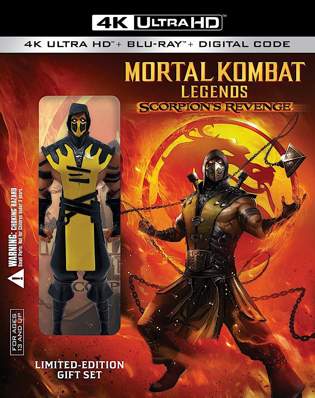 Mortal Kombat Legends Scorpion S Revenge 4k Blu Ray Limited