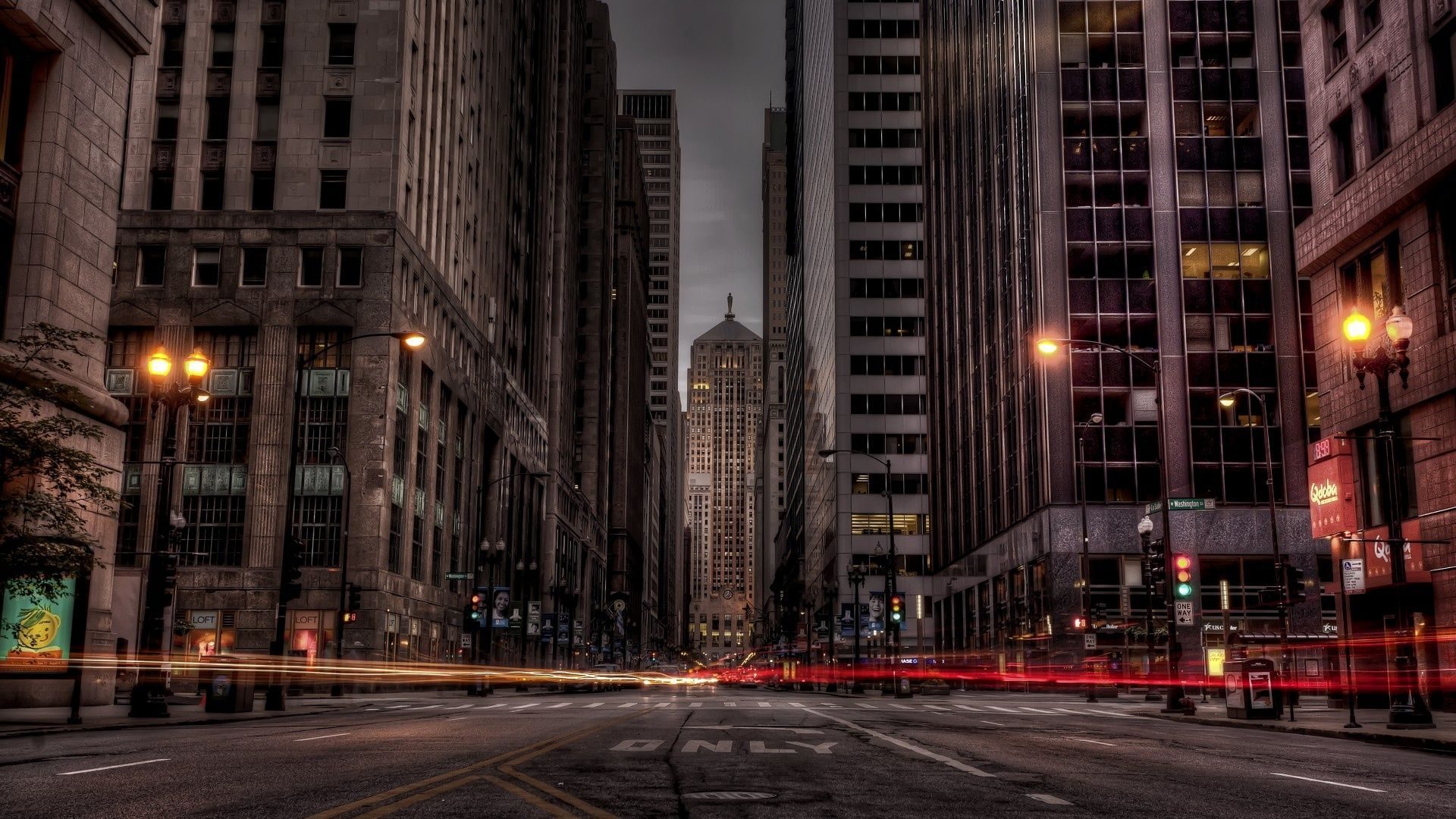 Chicago City Streets City Streets Photography City Background