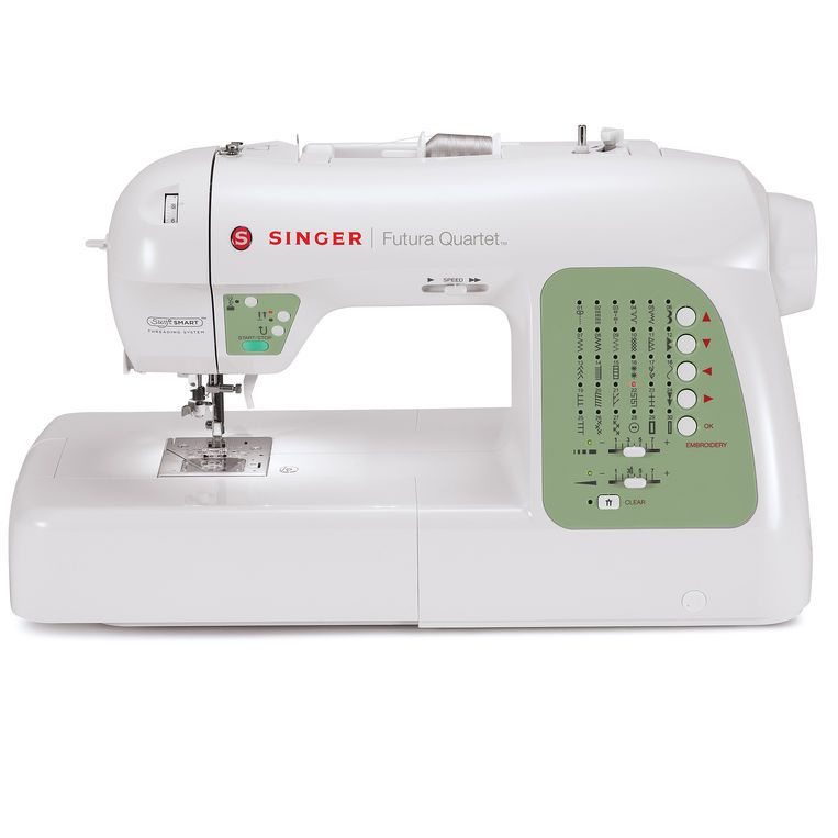SINGER Futura Quartet Sewing and Embroidery Machine | Sewing ...