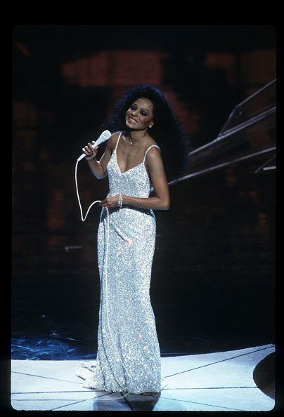 ABC Photo Archives March 25 1985 DIANA ROSS PERFORMING 'I JUST CALLED TO SAY I LOVE YOU' FROM 'THE WOMAN IN RED'