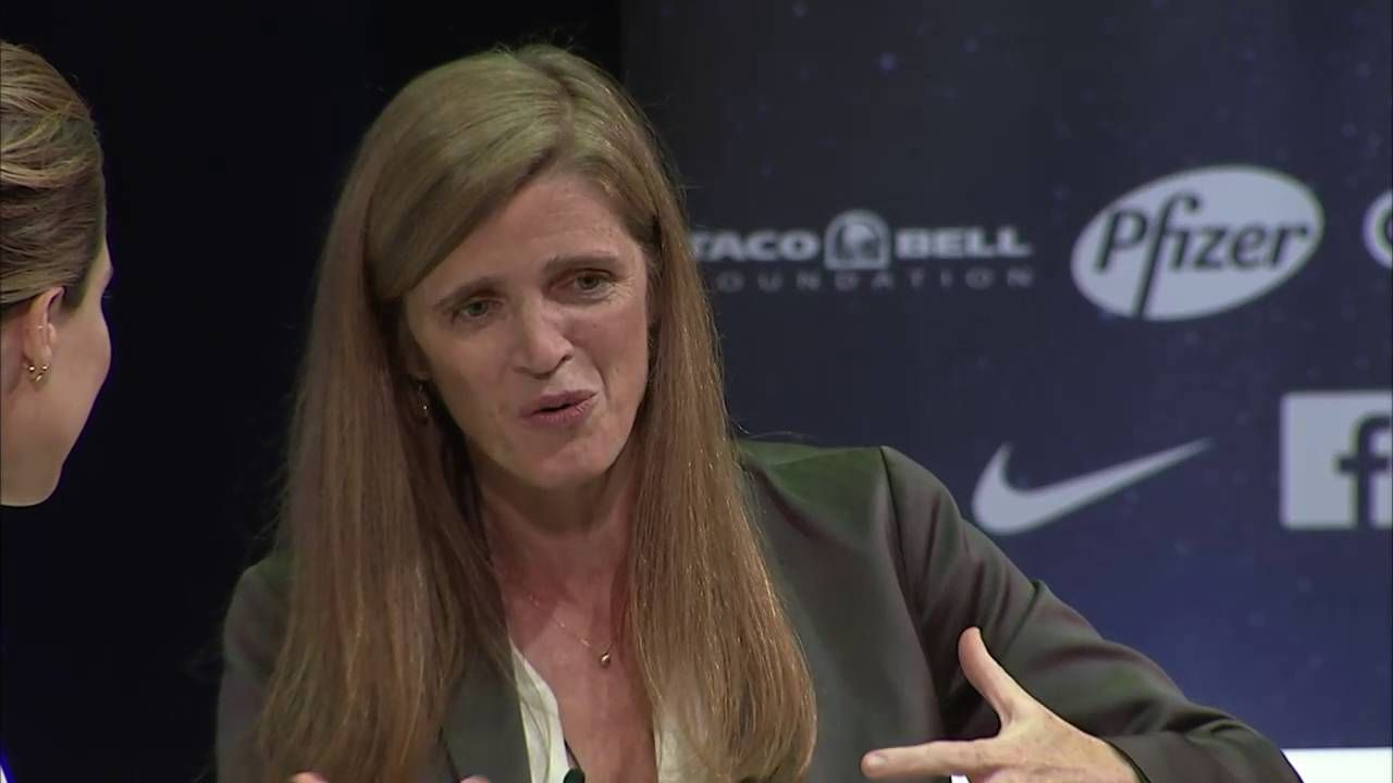 A Conversation with Ambassador Samantha Power