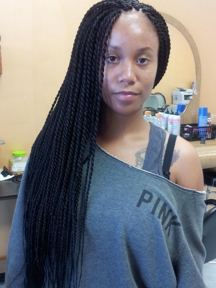 Medium Senegalese Twists Senegalese Twist Hairstyles Twist