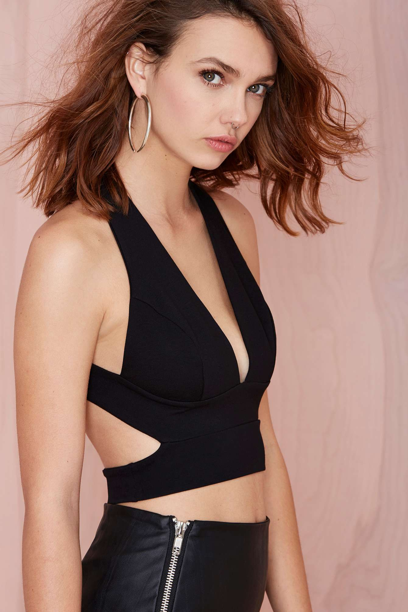 #BLACKFRIDAY STEALS | Plunge In Crop Top - $29