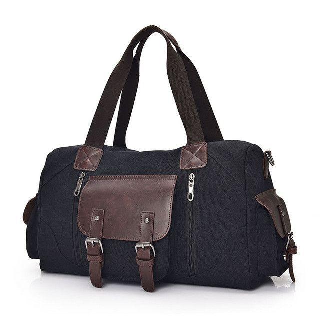 7996043cc6 Famous Brand Men Vintage Canvas Men Travel Bags Women Weekend Carry On  Luggage   Bags Leisure Duffle Bag Large Capacity Handbags