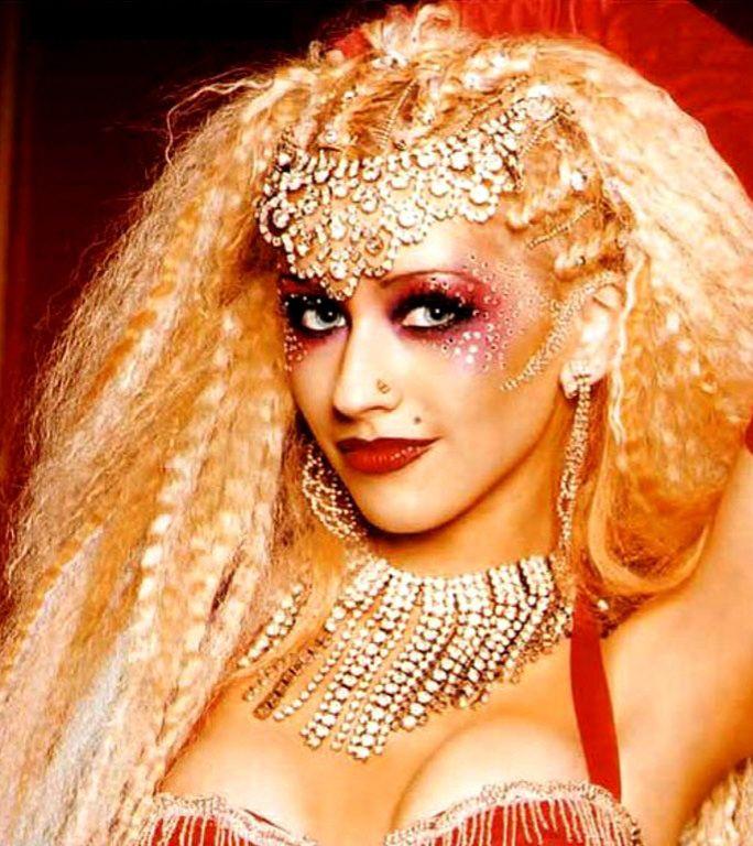 Geneluke Christina Aguilera Lady Marmalade Christina Aguilera Burlesque Makeup