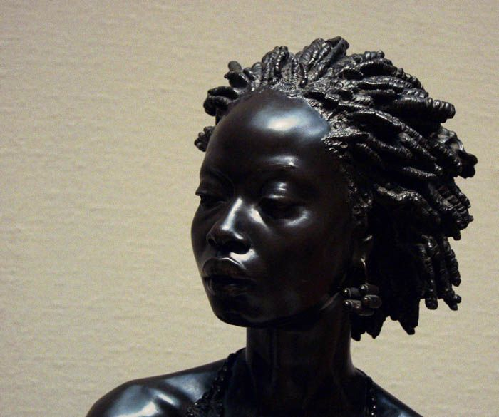 """African Sculpture: """"African Venus"""" (1851) By French Sculptor"""