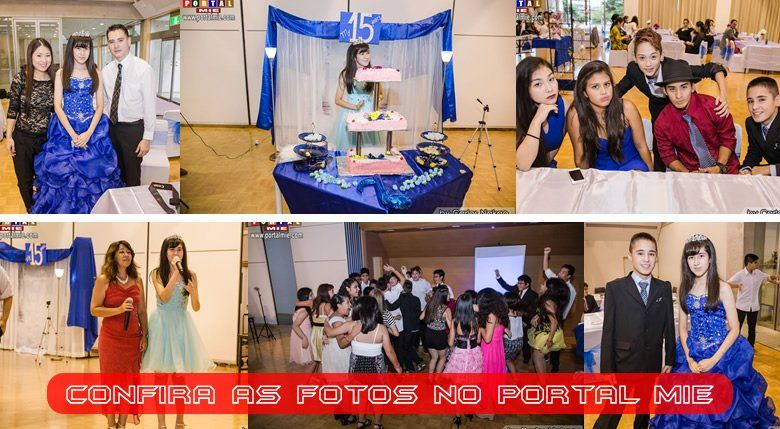 A festa contou com um delicioso buffet e uma recepção agradável e cheia de emoções para todos os presentes.