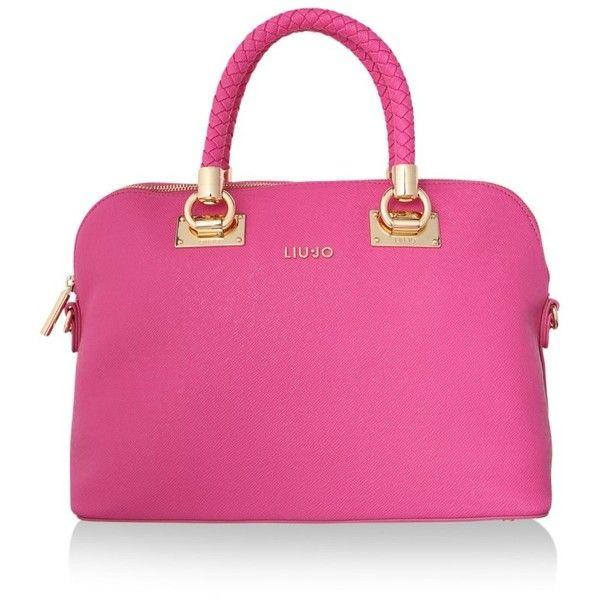 Liu Jo Shoulder Bags Anna Ping Bag M Dark Pink Handbag 3 035 Mxn