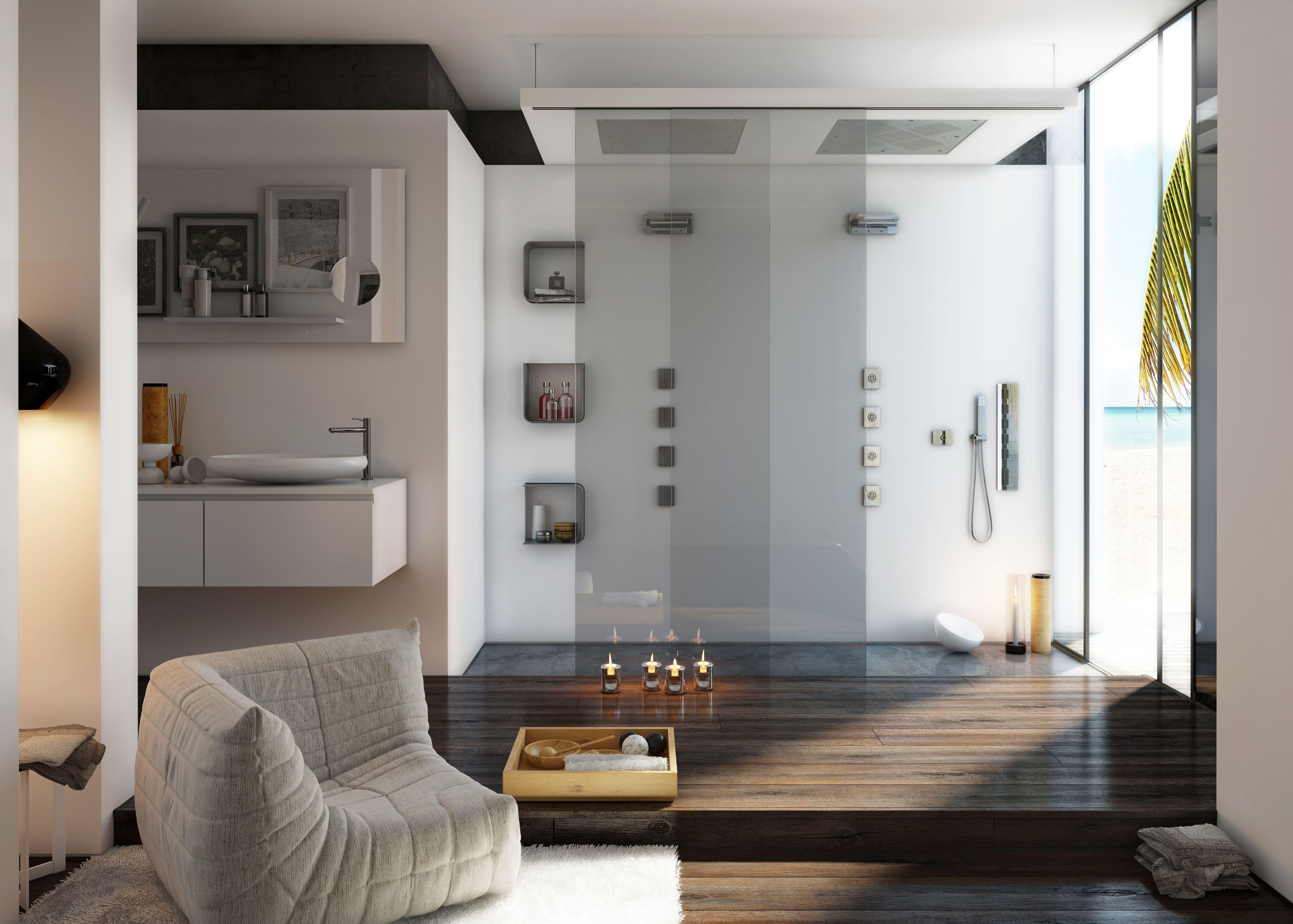 Calflex linea carimali un abiente bagno per due ! ambiente dream