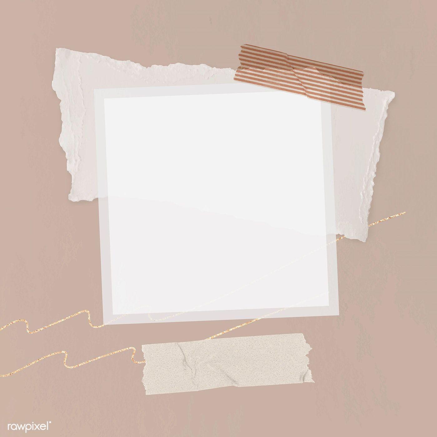 Download Premium Illustration Of Blank Collage Photo Frame
