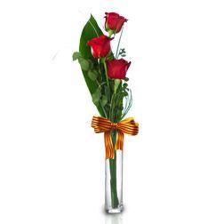 3 Rosas Rojas de Sant Jordi