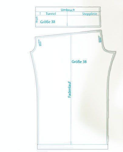 Schnittmuster Sommerhose Summer Pants (Ladies XS-XL) Free pattern
