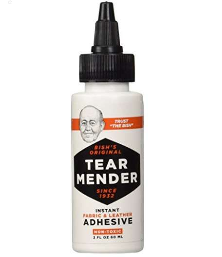 Tear Mender's Product Efficiently Fixes Torn Fabric and Leather   									Those who aren't particularly talented at sewing are sure to appreciate Tear Mender's 'Instant Fabric and Leather Adhesive.'  Great for emergency repairs, the product can be applied in...