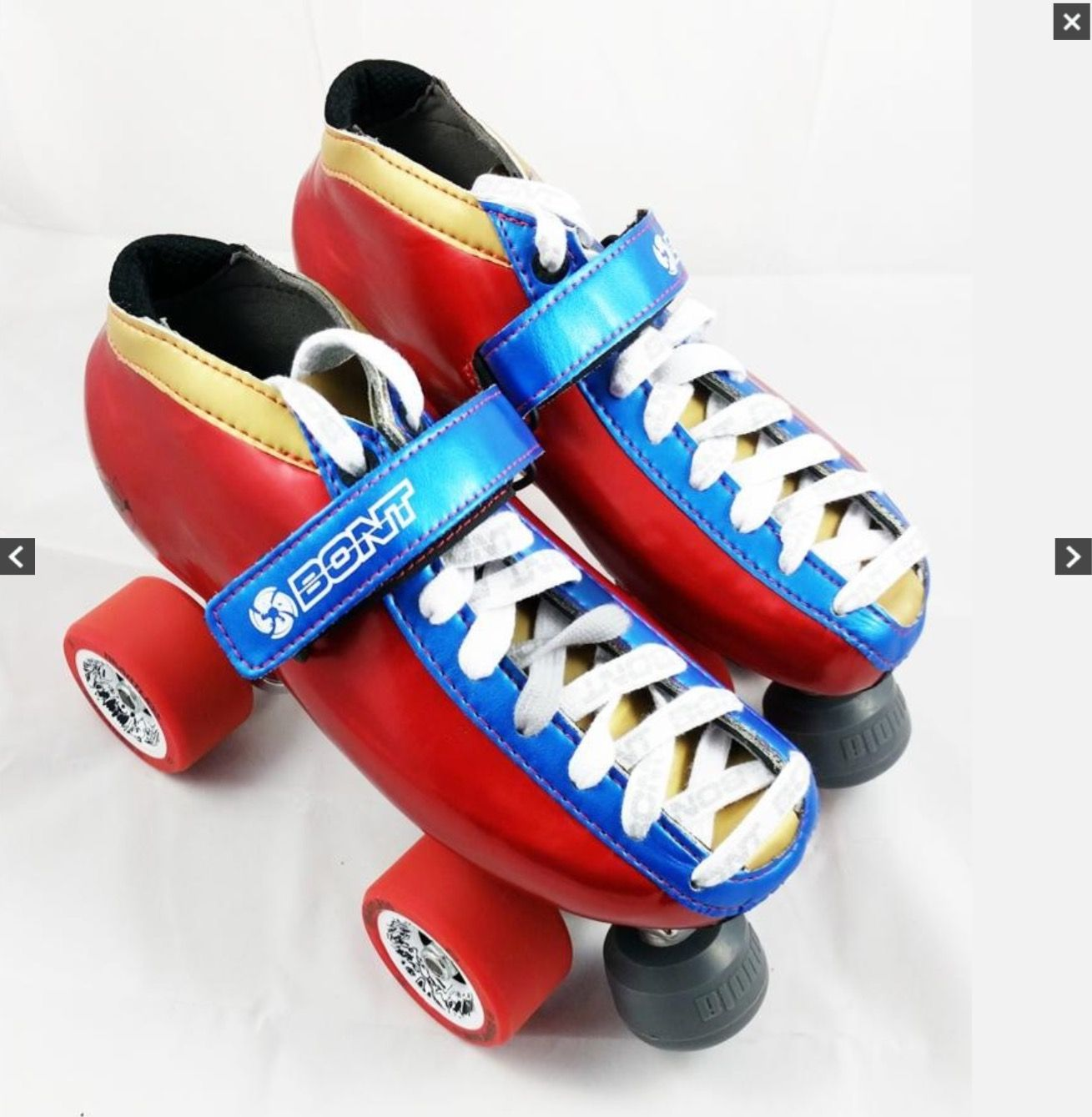 Roller tennis shoes - Bont Super Hero Custom Quad Skates