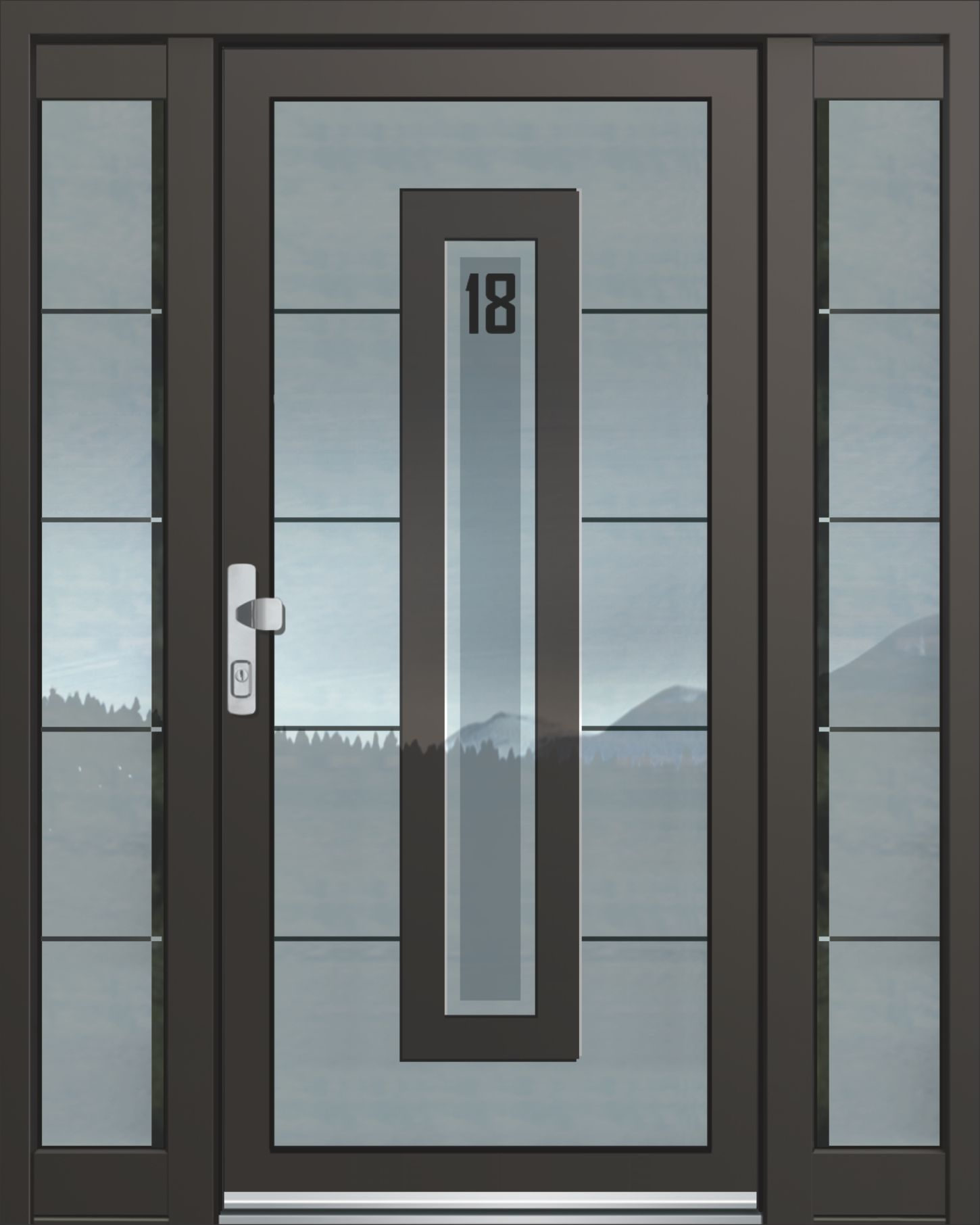 Inotherm Haustür Modell ASS 1831 Tür Mit Viel Glas Preis Auf Anfrage Bei  Www.1001