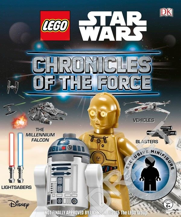 Lego Star Wars Chronicles of the Force Book first Cover Shot ...