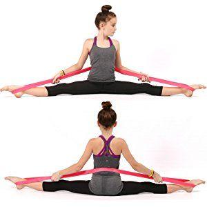 premium exercise ballet stretch band for dance gymnastics