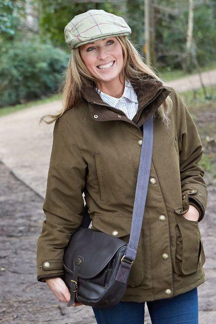 Rannoch Ladies W//P Hunting Jacket Hoggs Of Fife