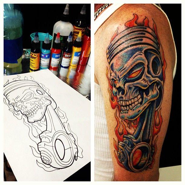 tattoo removal piston drawing 640 x 640 240 kb jpeg best tattoo cool tats pinterest. Black Bedroom Furniture Sets. Home Design Ideas