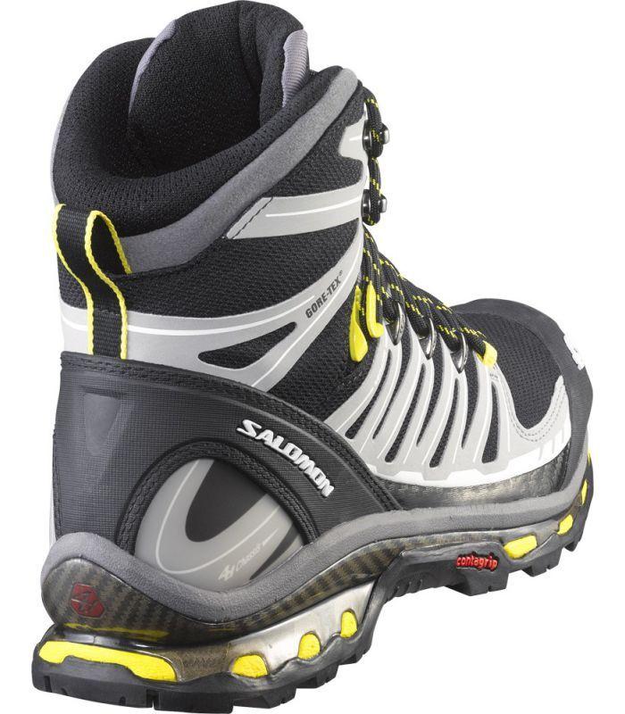 0234f664ca7 Botas de montaña Salomon Quest 4D 2 GTX Hombre Negro | Bolsas ...