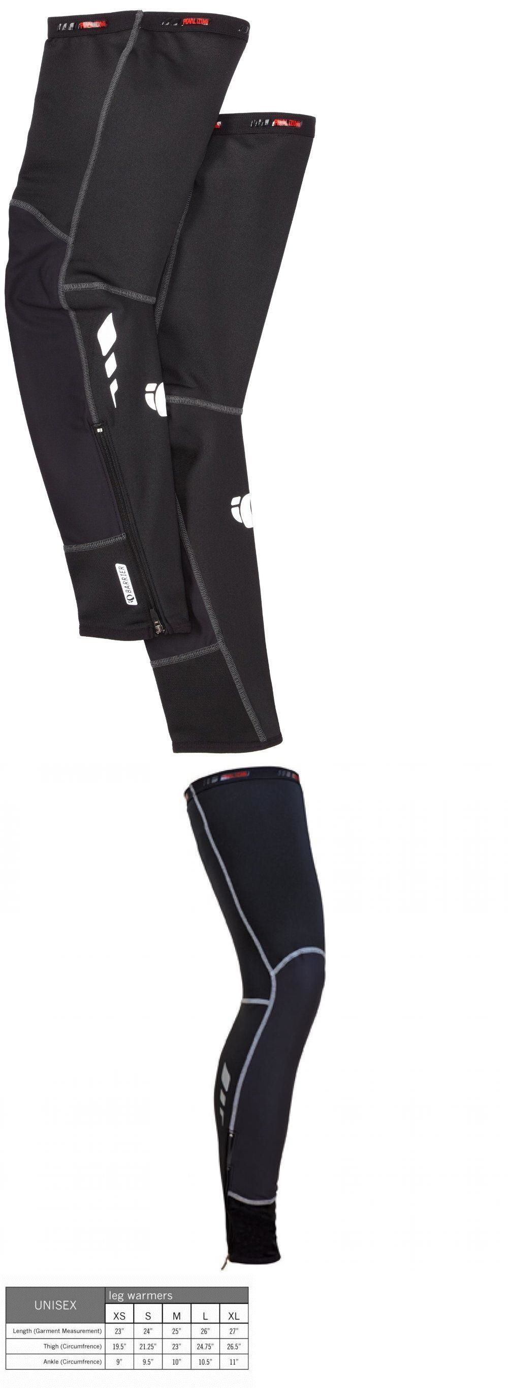 Arm Knee and Leg Warmers 85045: Pearl Izumi Unisex Pro Barrier Leg Warmer Black S Xl Windproof New BUY IT NOW ONLY: $53.0