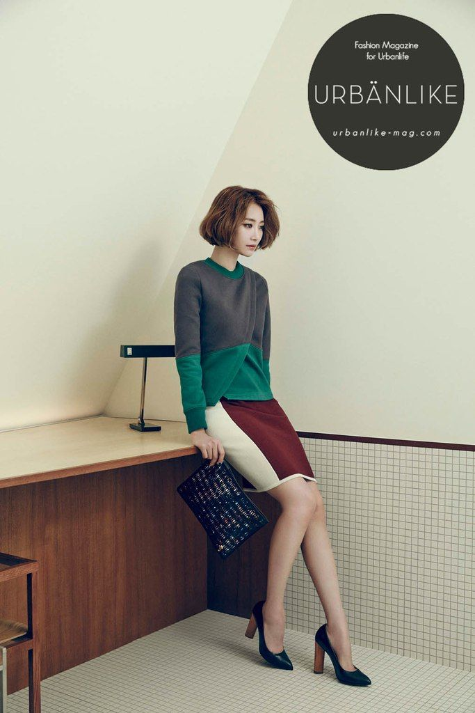 nice Go JoonHee & Choi WooSik for Urban Like, December 2014