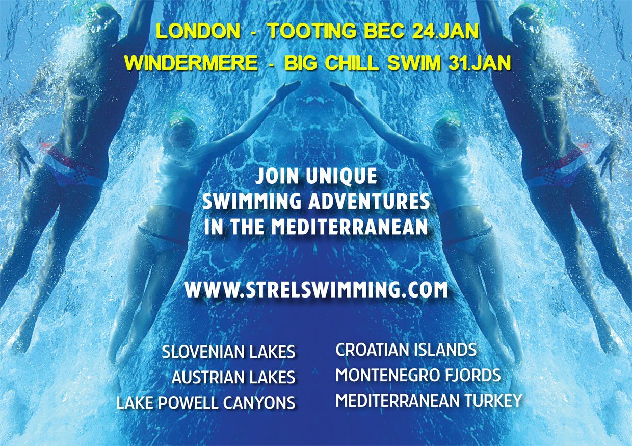 We are exhibiting at two major winter swimming events in the UK. Please come and stop by at our stand! www.strel-swimming.com