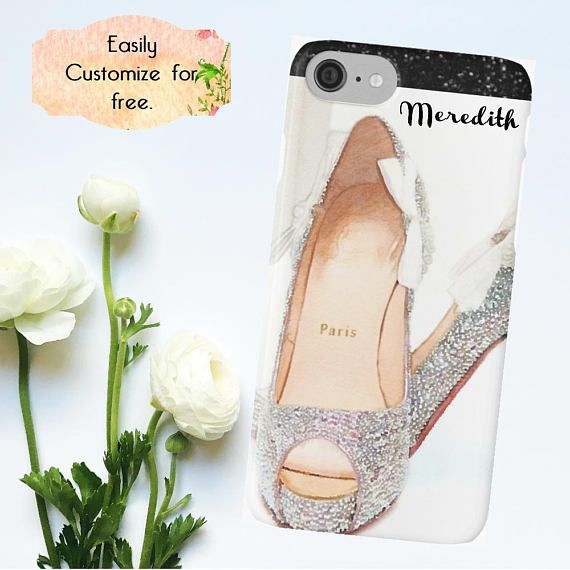 #LouboutinAccessory, #PhoneCase #ILoveBling Christian Louboutin Phone Case High Heels iPhone Case