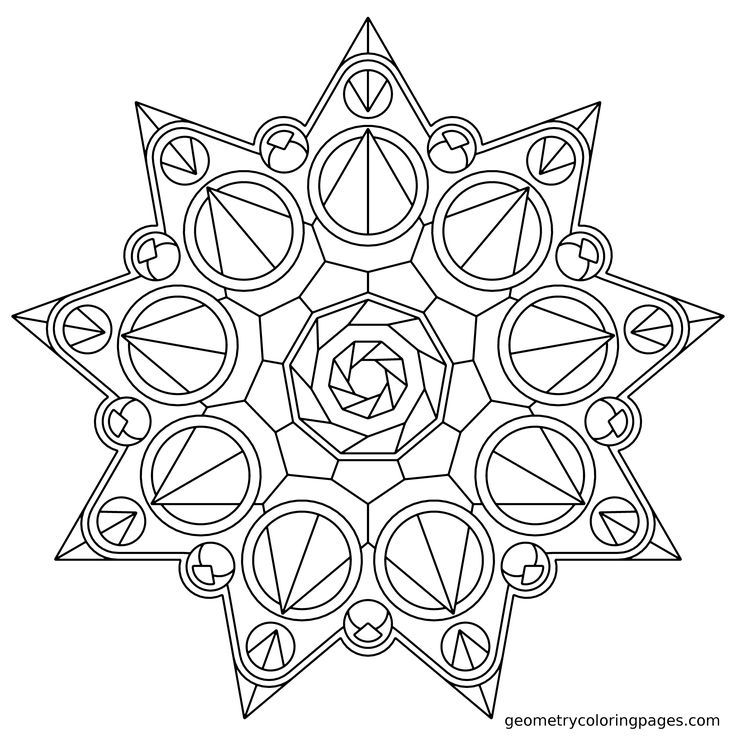 name crown star mandala coloring pages resolution id 48483