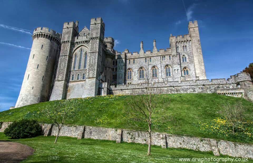 Arundel Castle. Henry VIII stayed here during the 1526 royal progress. One of the many locations he stayed in.