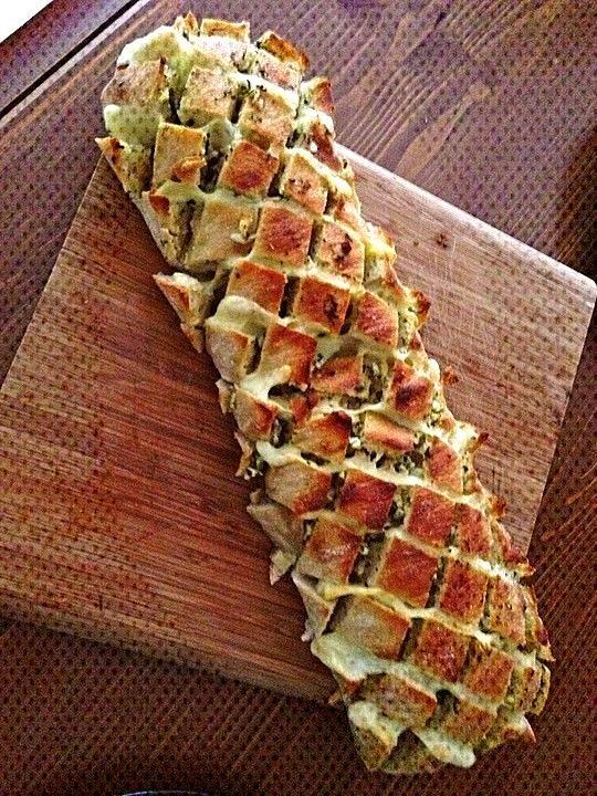 Garlic cheese ciabatta -